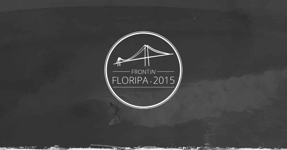 Logo do Front in Floripa 2015