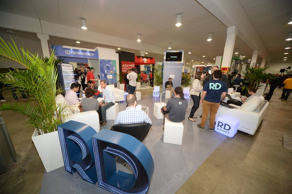 Lounge da Resultados Digitais no RD Summit 2015